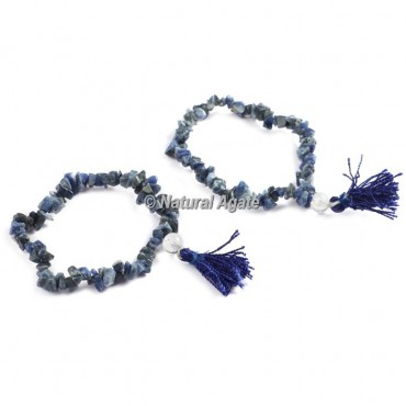 Sodalite Chips Healing Yoga Bracelet