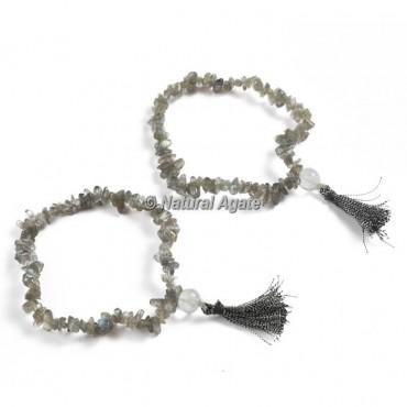 Labradorite Chips Healing Yoga Bracelet