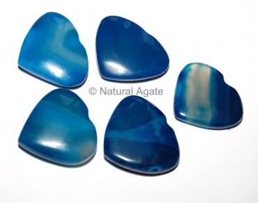 Blue Onyx Hearts