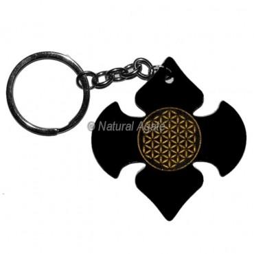 Flower of life Acrylic Keychain