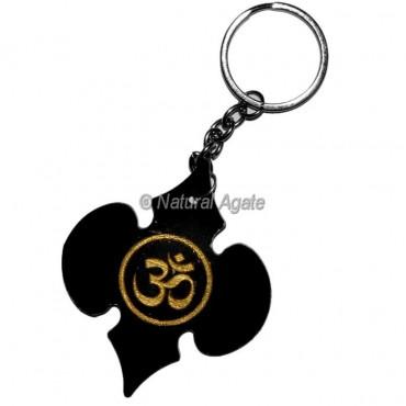 Om Acrylic Keychain