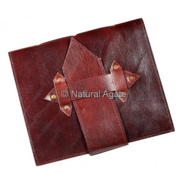 Red Colour Leather Journals