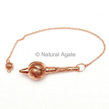Copper Gada Metal Pendulums