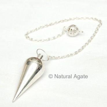 Plane Silver Metal Pendulums