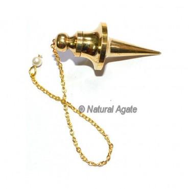 Big Point Golden Brass Pendulums