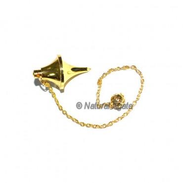 Double Point Golden Brass Pendulums