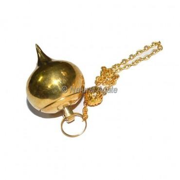 Opanable Gold Brass  Ball Pendulums