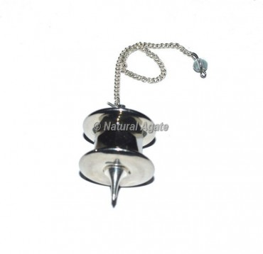 Silver Metal Dowsing Pendulums