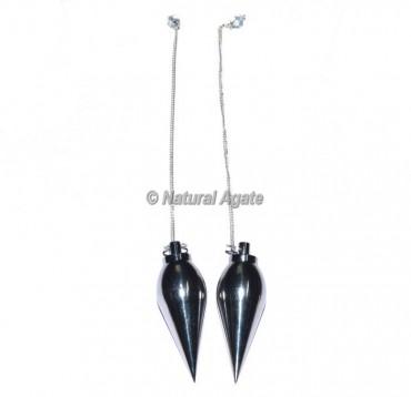 Silver Metal Plane Pendulums