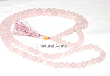 Rose Quartz Jap Mala