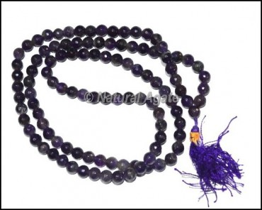 Amethyst Faceted Jap Mala