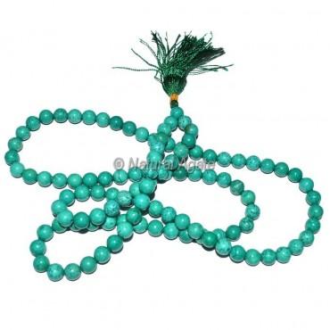 Turquoise 108 Beads Jap Mala