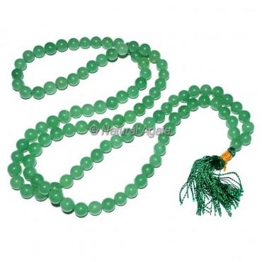 Green Jade Jap Mala