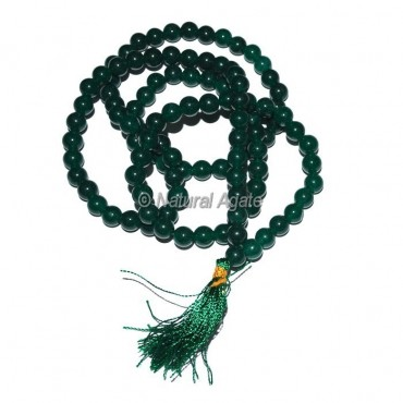 Dark Green Jade Jap Mala