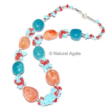 Fancy Turquise Necklace