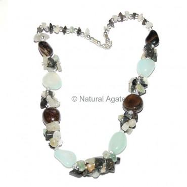 Fancy Onyx Necklace