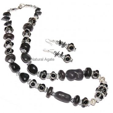 Black Fancy necklace