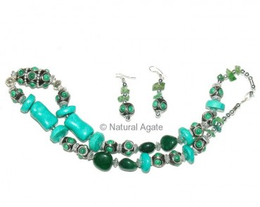 Green Turquise Necklace