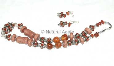 Brown Multi Necklace