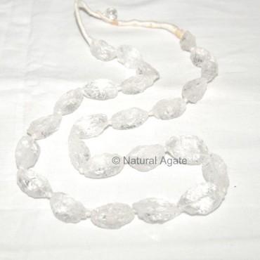 Crystal Hammered Necklace