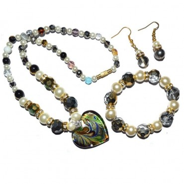 Glass Beads Fashions Necklaces