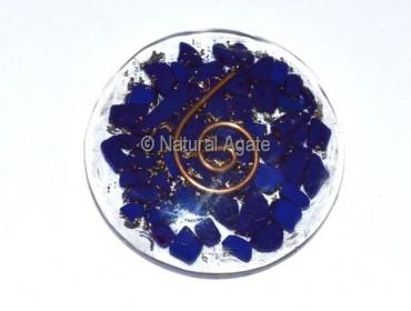 Lapis Orgone Disc
