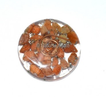 Peach Aventurine Orgone Disc