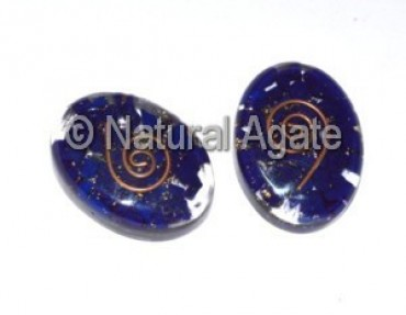Lapis Orgone Oval