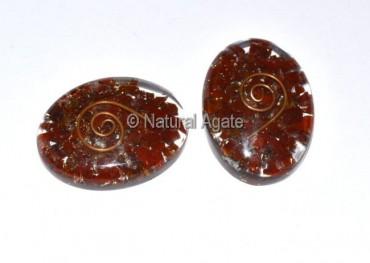 Red Jasper Orgone Oval