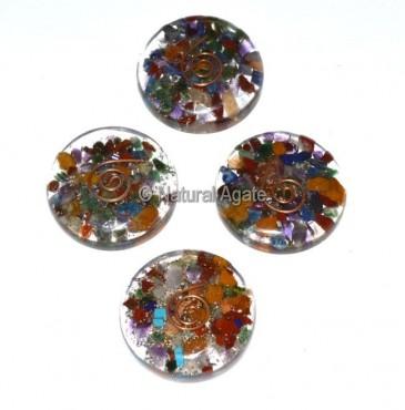 Chakra Orgone Disc