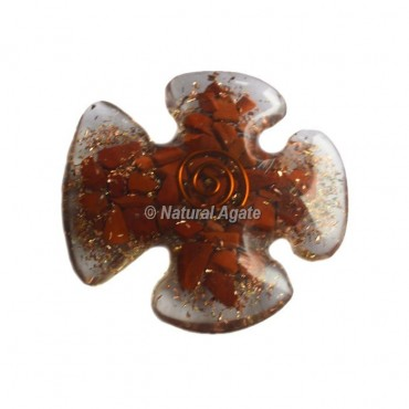 Red Carnelian Orgone Tree Of Life Cab