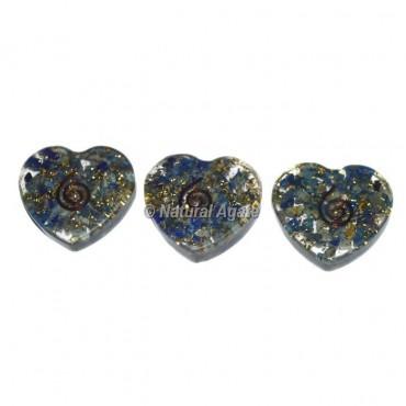 Lapis Lazuli Orgone Heart Cab