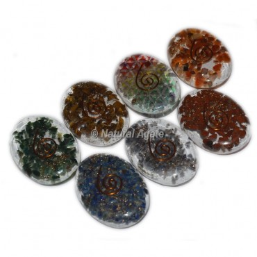 Assorted Stones Orgone Oval Cab