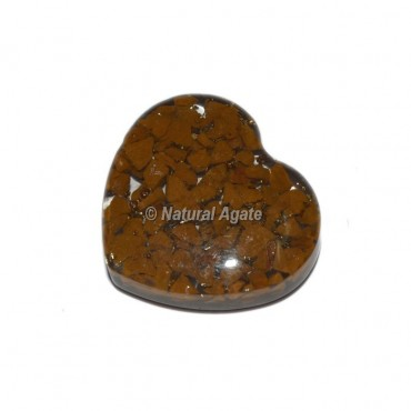 Yellow Jasper Orgone Hearts Cab