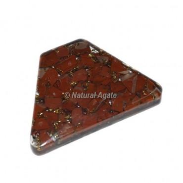 Red Jasper Orgone Trapezoid Cab