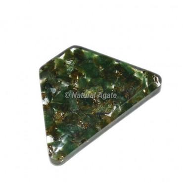 Green Aventurine Orgone Trapezoid Cab