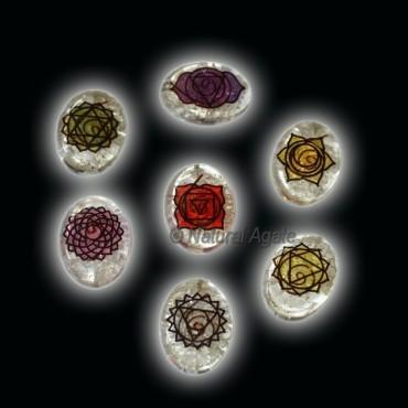 Printed Orgone Chakra Symbol Set