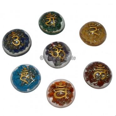 Seven Chakra Dome Orgone Set