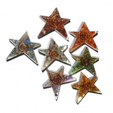 Seven Chakra Pentagram Star Set