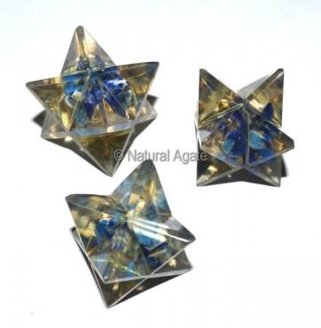 Orgone Lapis Merkaba Star