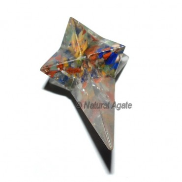 Orgone Seven Chakra Magic Stick Merkaba Stars