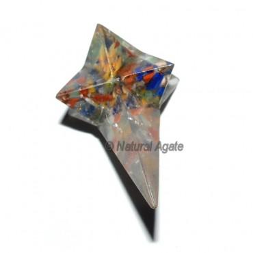 Orgone Seven Chakra Magic Stick Merkaba Stars
