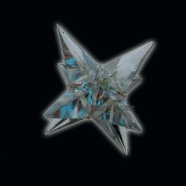Orgone 8 Point Seven Chakra Merkaba Star