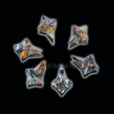 Orgone Mix Magic Stick Small Merkaba Star