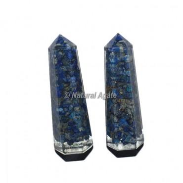 Lapis Lazuli Orgone Obelisk Point
