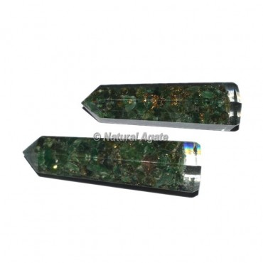 Green Aventurine Orgone Obelisk Point