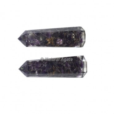 Amethyst Orgone Obelisk Point