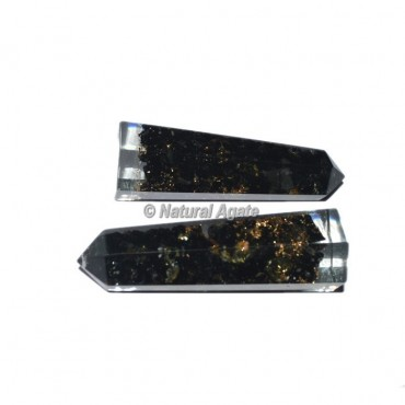 Black Tourmaline Orgone Energy Obelisk Point