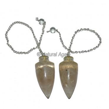 Crystal Quartz Plane Orgone Pendulum