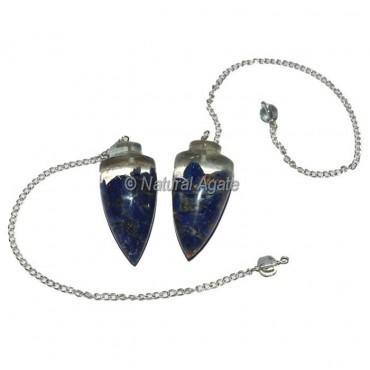 Lapis Lazuli Plane Orgone Pendulum